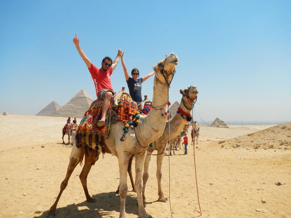 Cherelle and Luke in Egypt