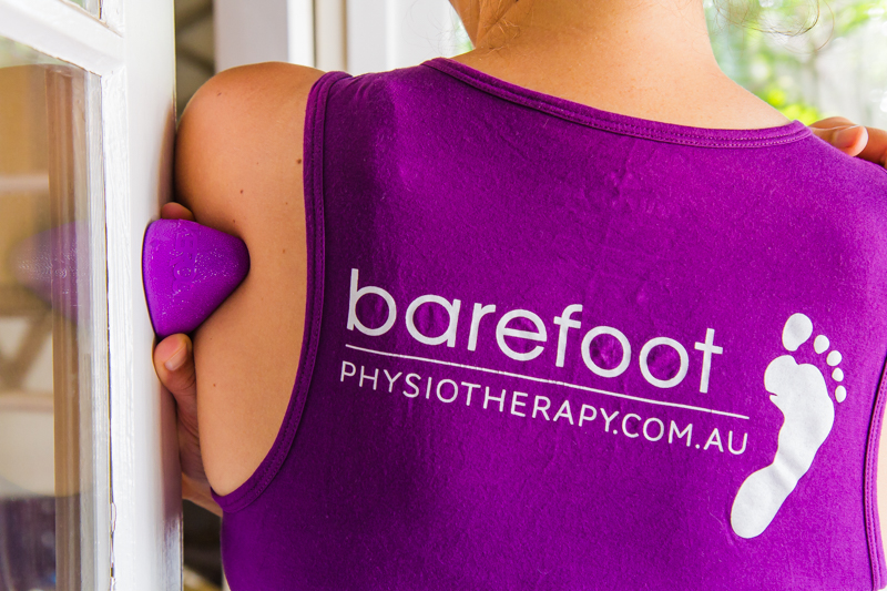 Infraspinatus release with pocket physio