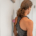 Barefoot Physiotherapy Brisbane example of a shoulder self release clients can do at home.