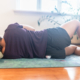 Barefoot Physiotherapy Brisbane example of a Glute self release clients can do at home.