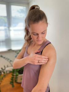 Muscle release shoulder
