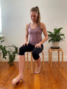 Muscle release foot