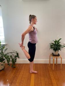 Muscle stretch quads