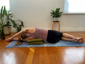 Muscle stretch rib opening