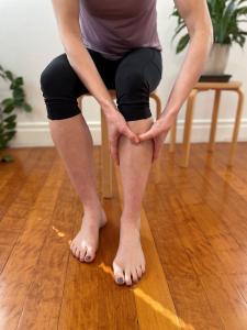 Muscle release shin